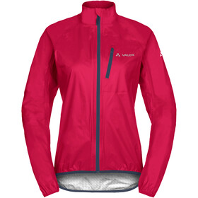 VAUDE Drop III Jakke Damer, cranberry